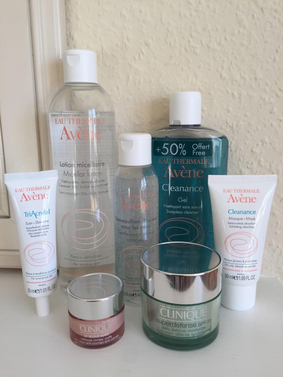 Routine soins du visage