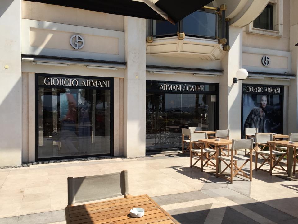 Armani Caffè Cannes - 3