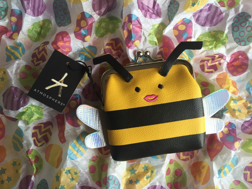 Porte-monnaie abeille