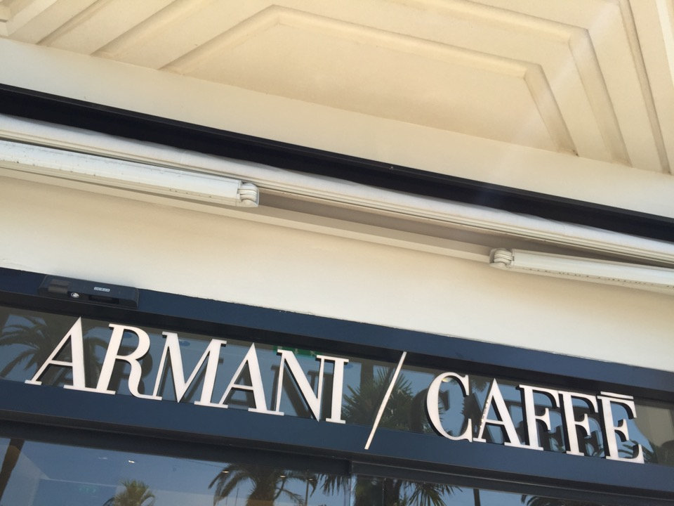 Armani Caffè Cannes - 1