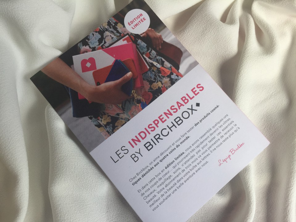 Les Indispensables Birchbox - 2