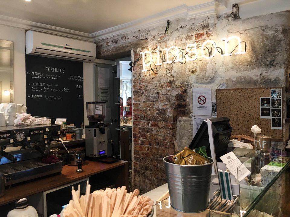 Le Café Pinson - Paris.