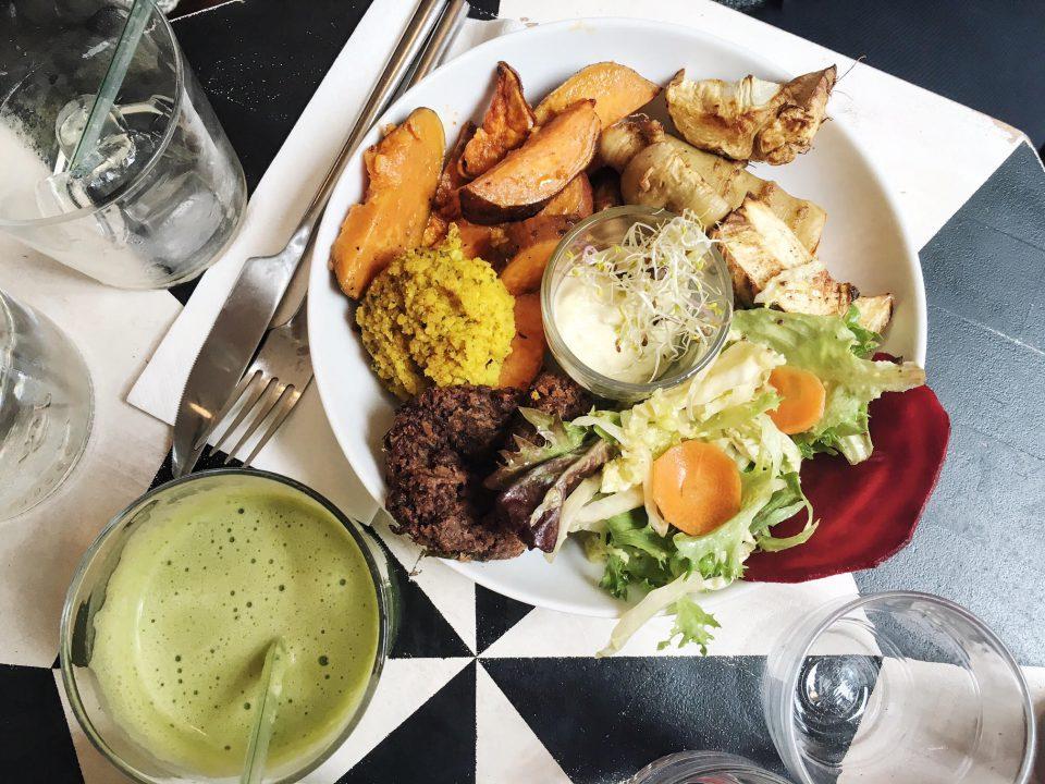 Légumes Pinson du Café Pinson - Paris.