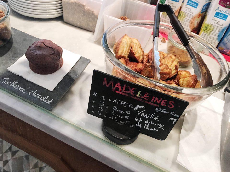 Desserts du Café Pinson - Paris.