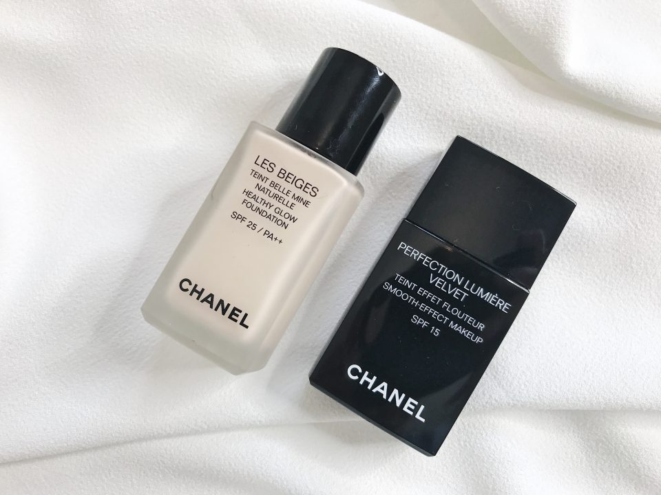 Teint Belle Mine Naturelle et Perfection Lumière Velvet, CHANEL.