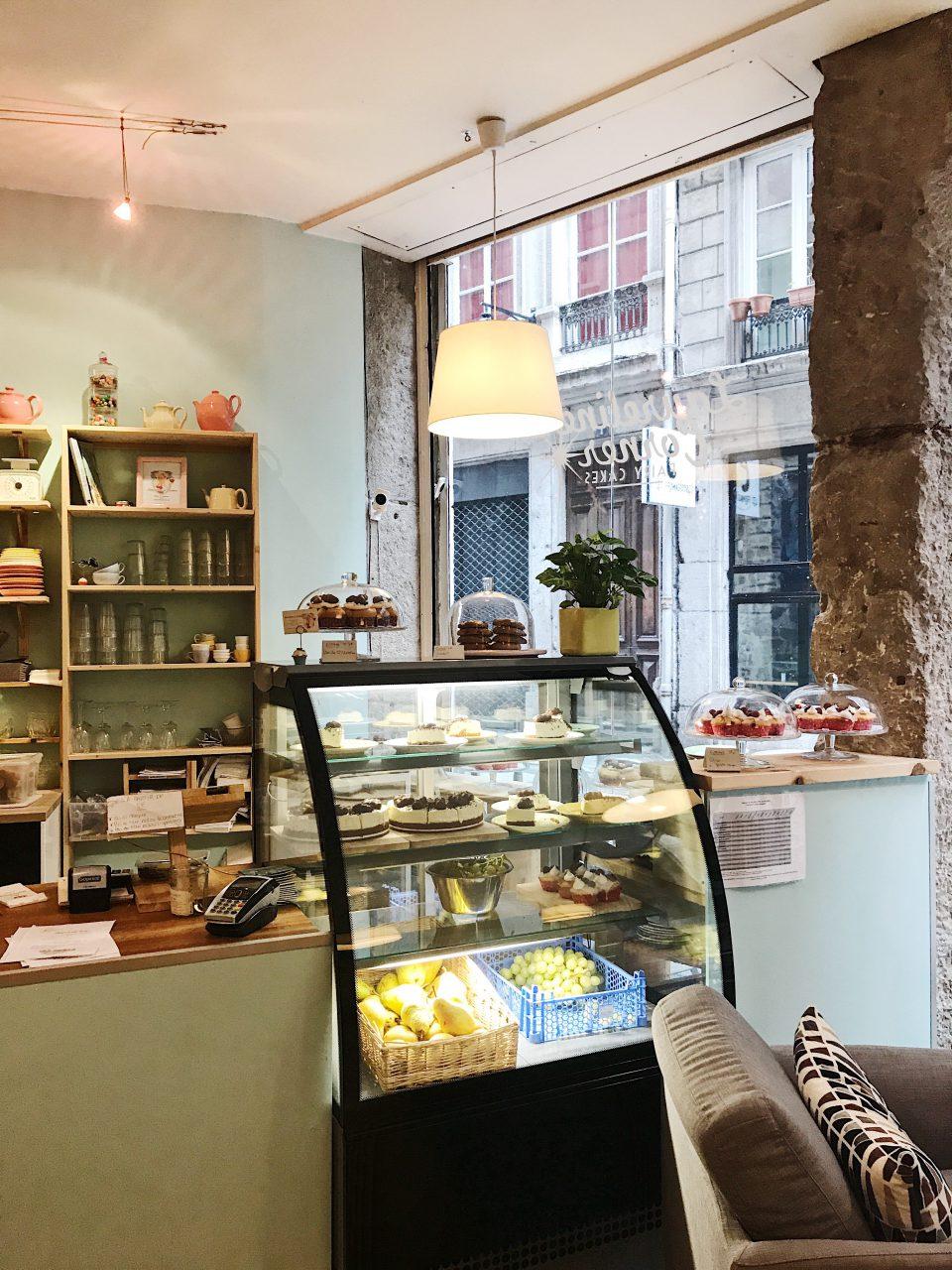 Salon de thé Laureline's Corner.