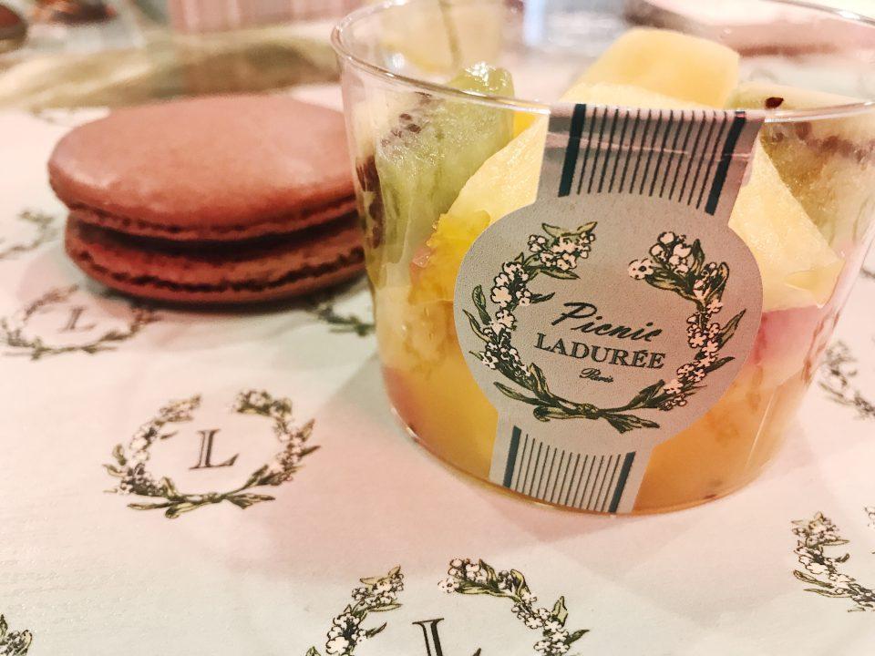 Desserts Picnic Ladurée.