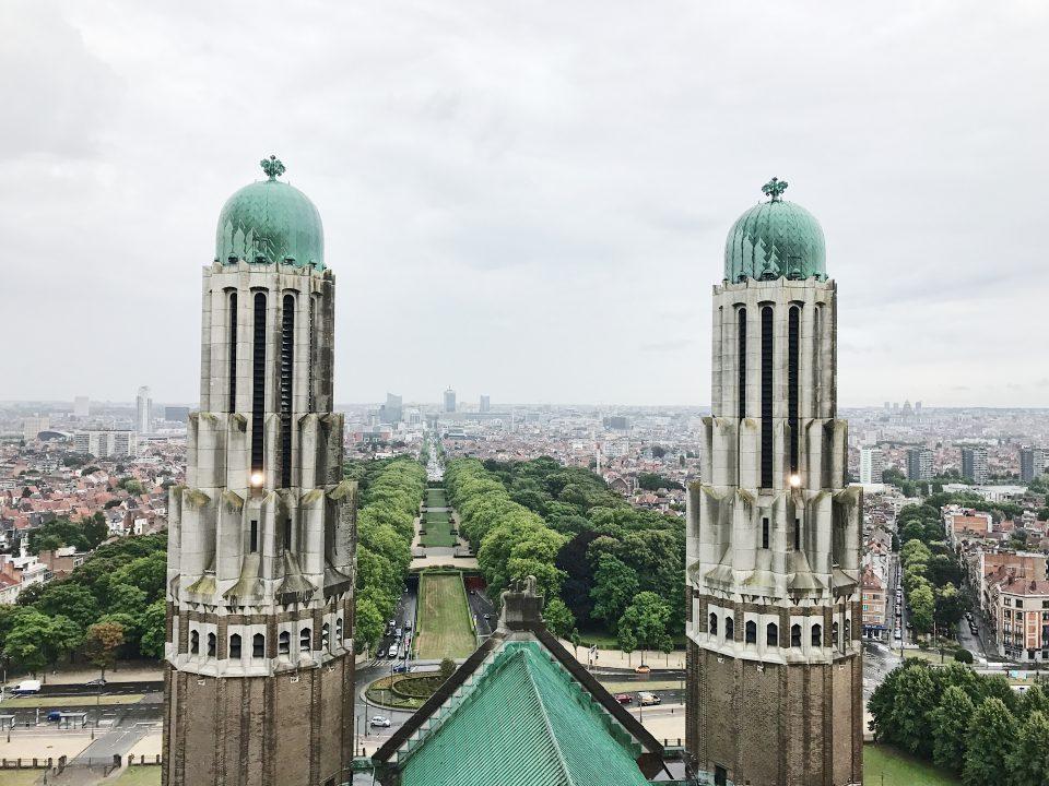 Basilique du Sacré-Coeur de Bruxelles.