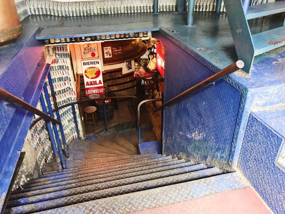 Intérieur du Délirium Café.