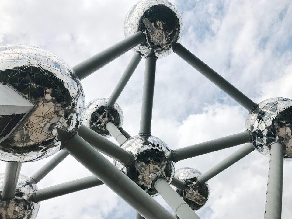 Atomium de Bruxelles.