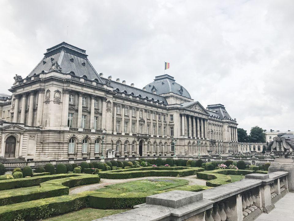Palais Royal de Bruxelles.