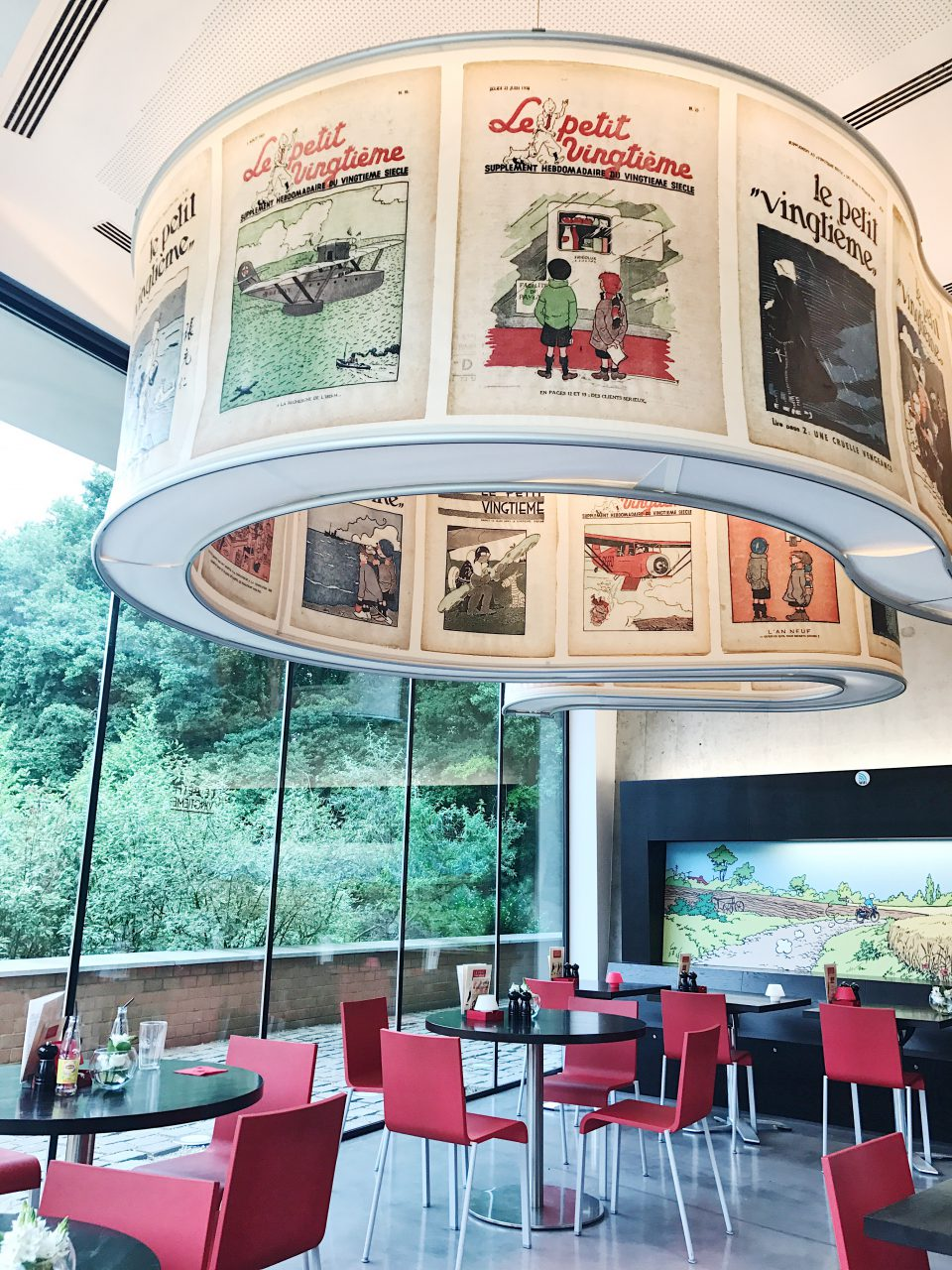 Café du Musée Hergé.