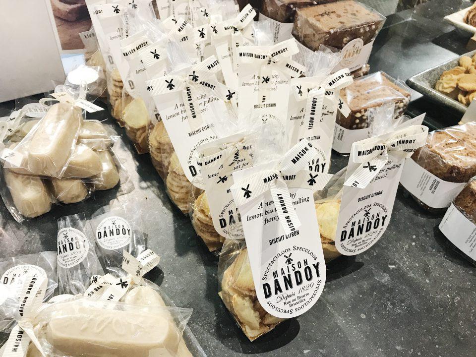 Biscuits de la Maison Dandoy.