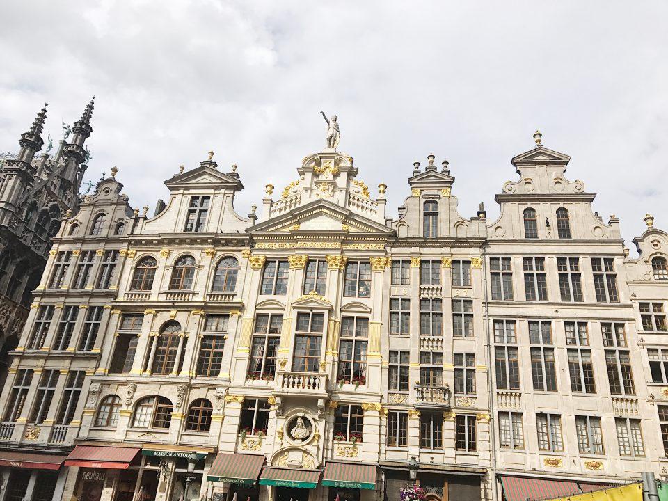 La Grand'place de Bruxelles.