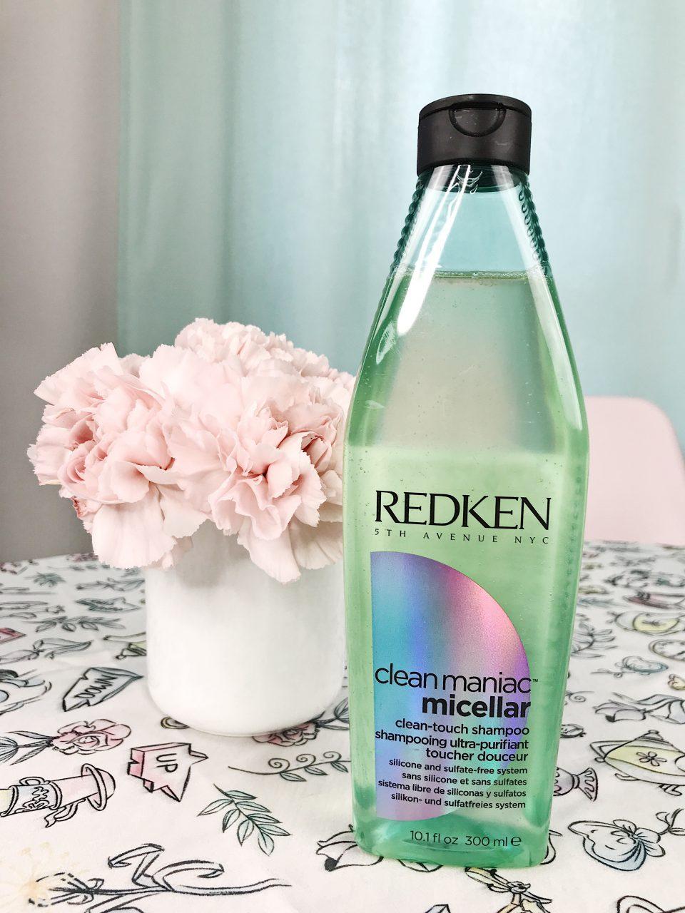 Shampooing Clean Maniac Micellar REDKEN.