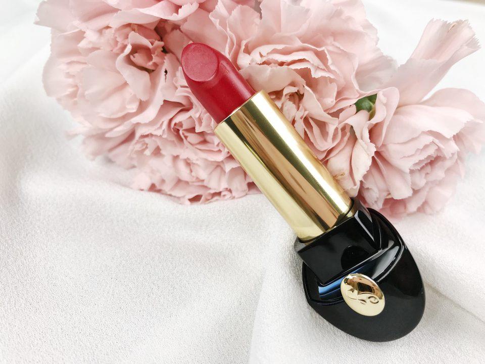 Rouge à lèvres Rouge G de Guerlain.