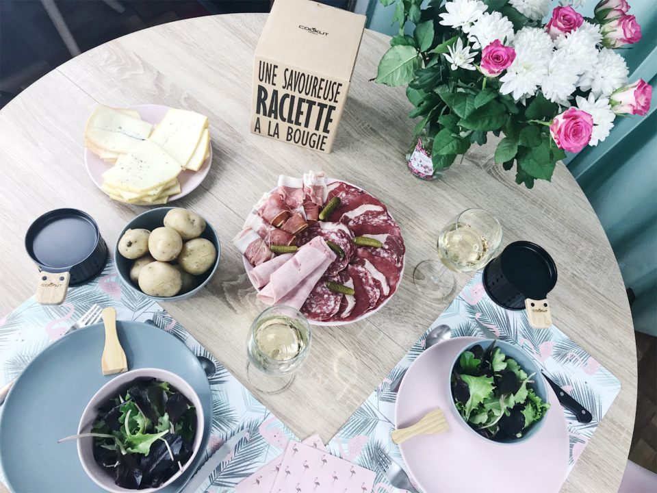 Raclette party avec COOKUT.