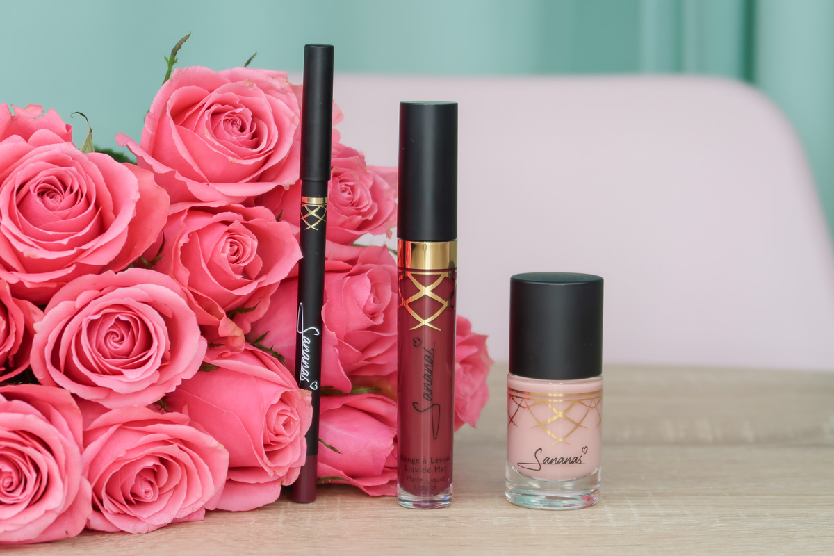 Collection de maquillage Sananas BEAUTY.