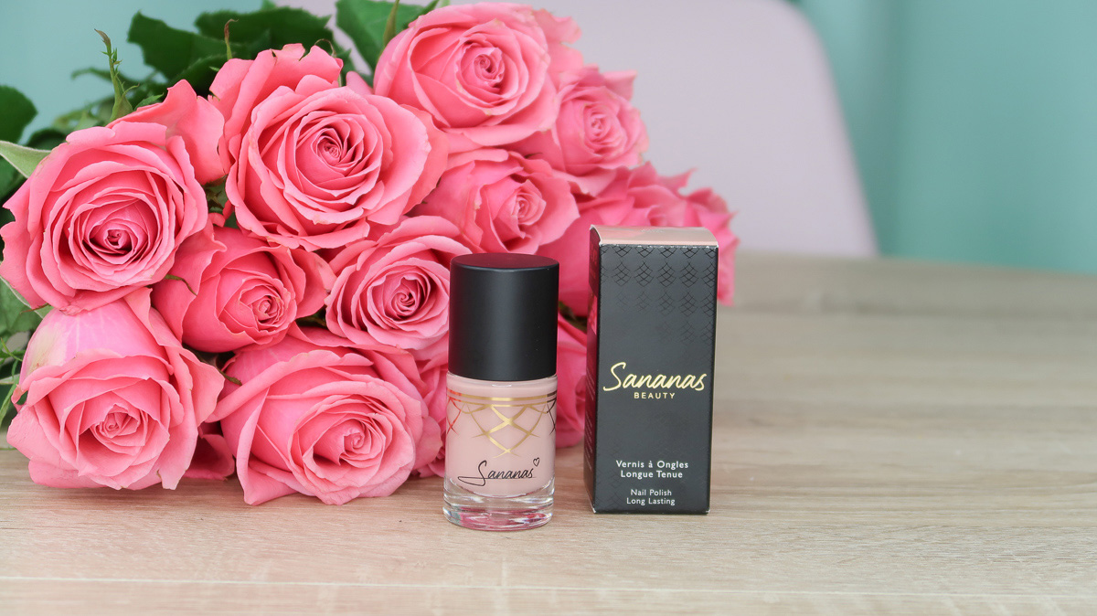 """Vernis à ongles """"Pink Poise"""" Sananas BEAUTY."""