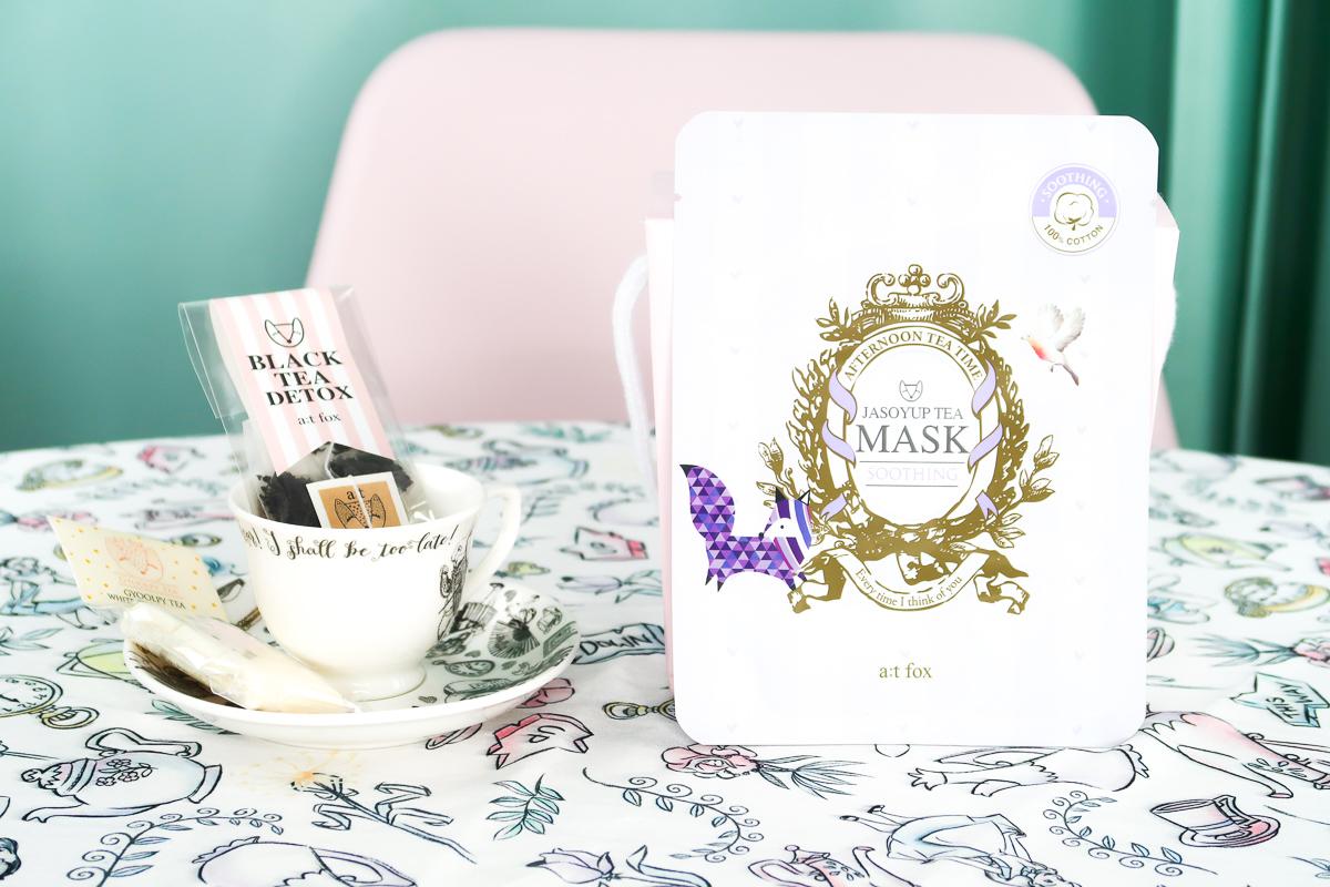 Masque Tissu JASOYUP Tea, a;t fox.
