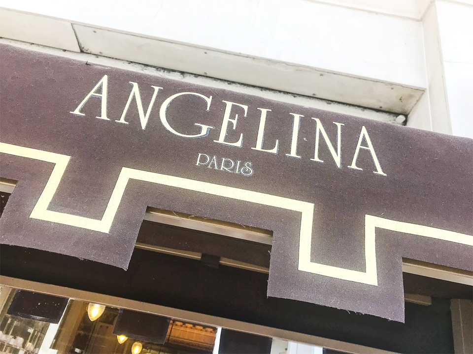 Boutique ANGELINA PARIS.