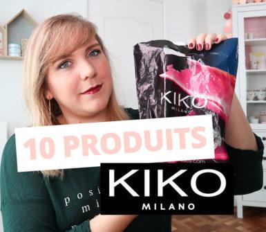 10 produits de la marque KIKO