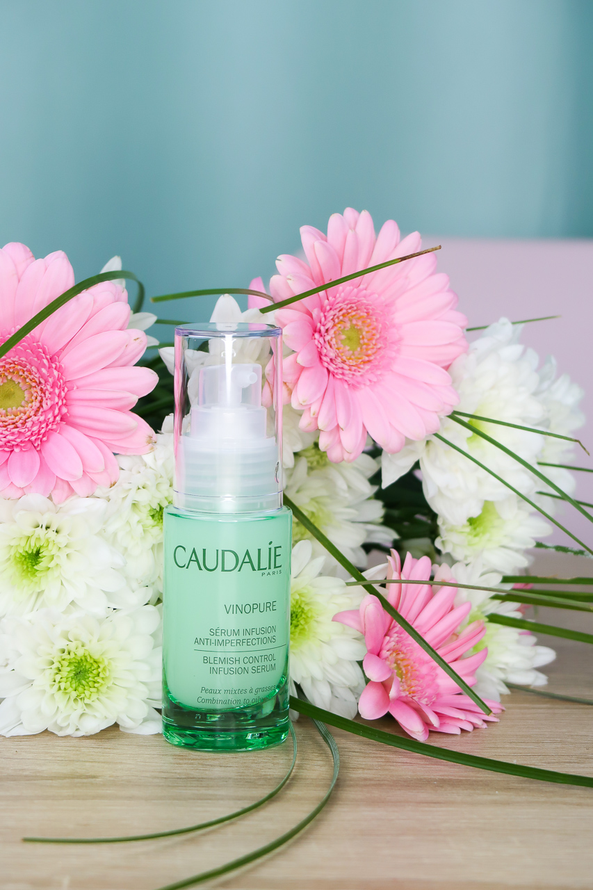 Sérum Infusion Anti-Imperfections VINOPURE de CAUDALIE.