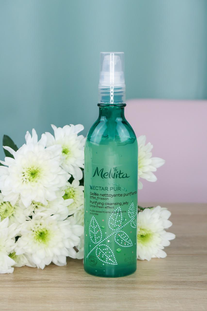 Gelée Nettoyante Purifiante de la gamme Nectar Pur - Melvita.