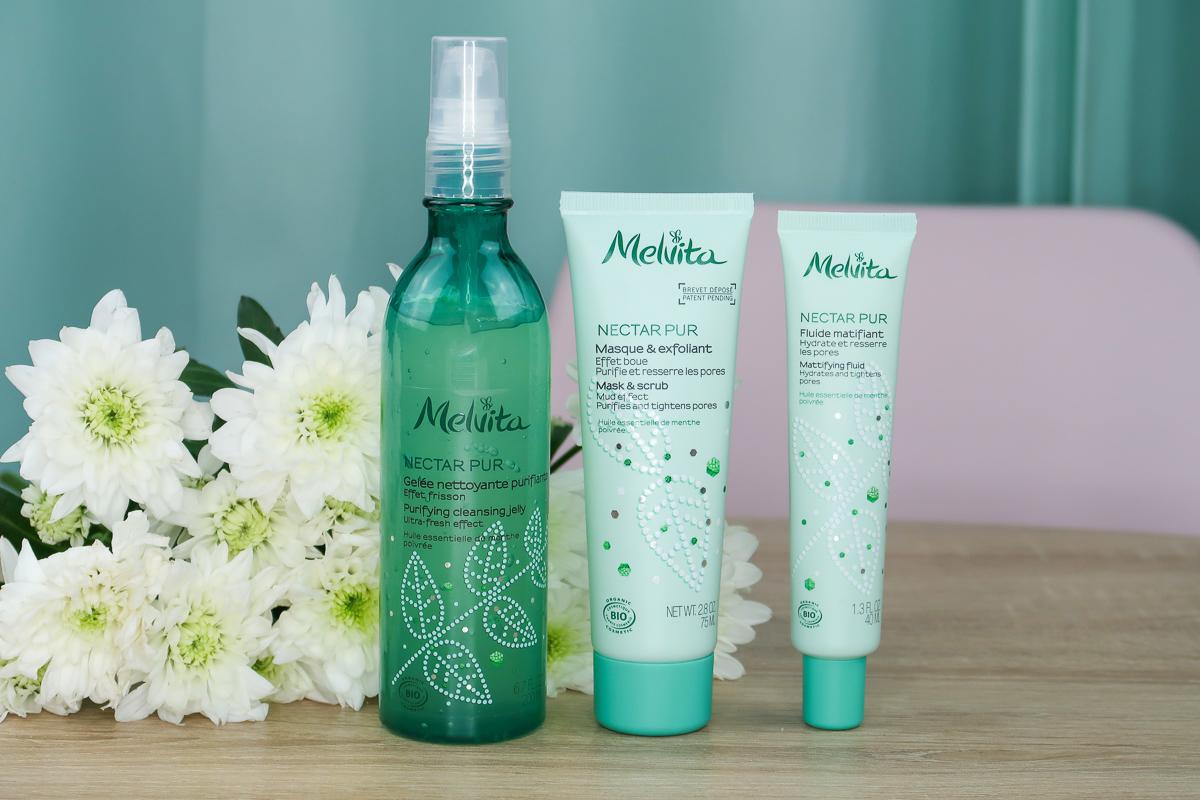 Concours : gamme Nectar Pur de Melvita.