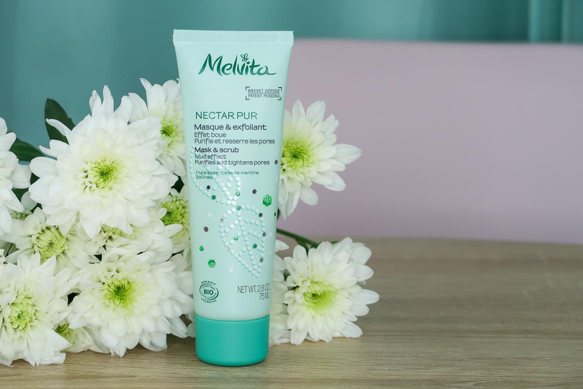Masque & Exfoliant de la gamme Nectar Pur - Melvita.