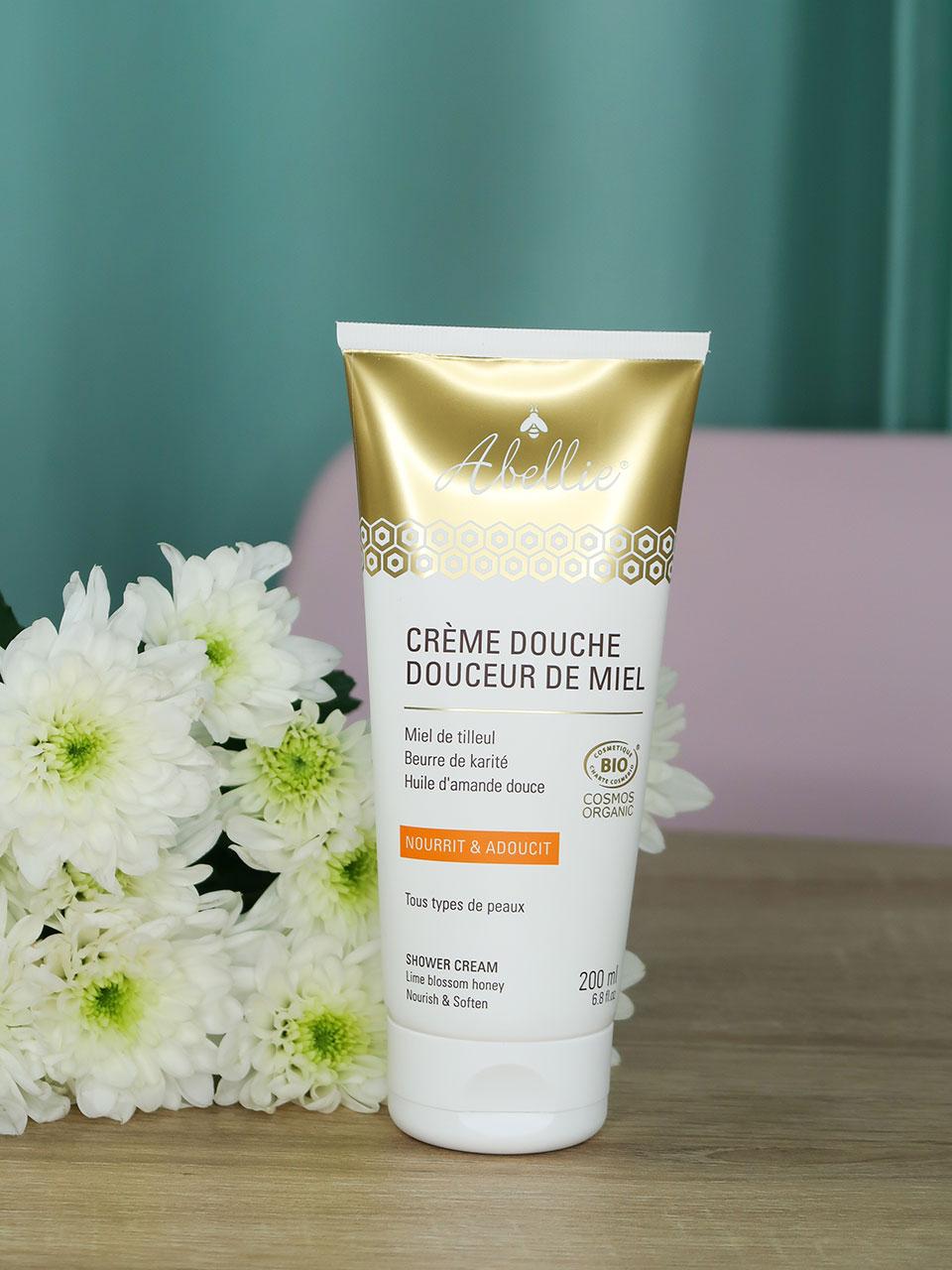 Crème Douche Douceur de Miel, Abellie.