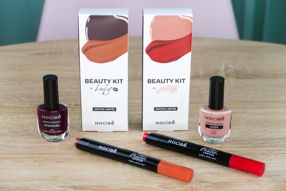 BEAUTY KIT by NOCIBE : Lufy et Noémie Make Up Touch.