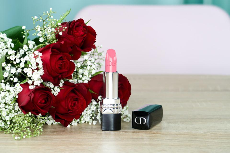 Rouge à lèvres « 060 Première » de Dior.