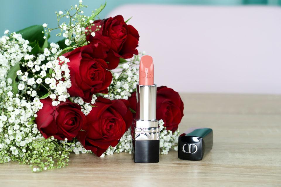 Rouge à lèvres « 219 Rose Montaigne » de Dior.