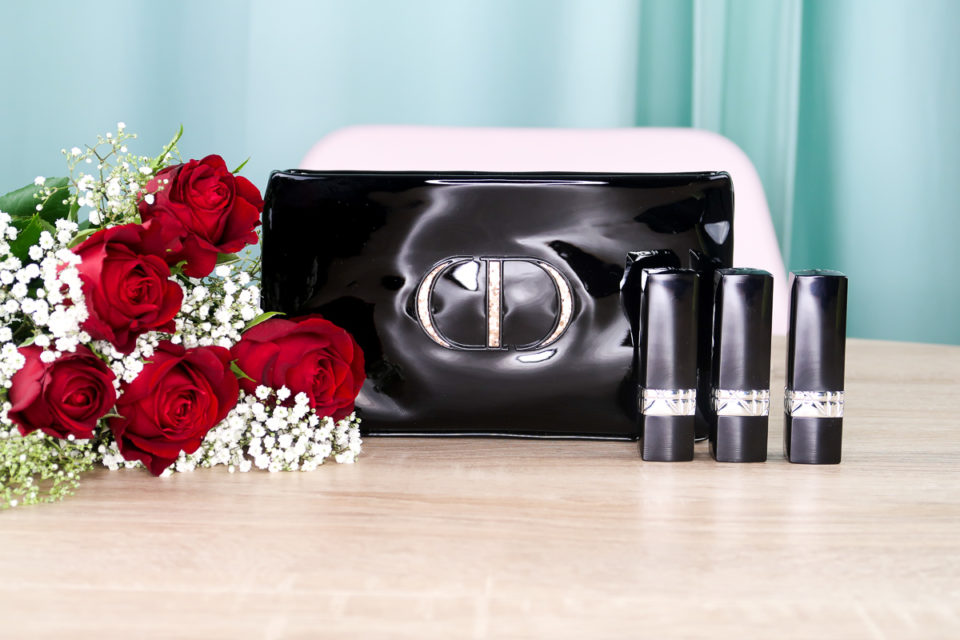 Trousse et rouges à lèvres ROUGE DIOR COUTURE COLOUR LIPSTICK TRIO.