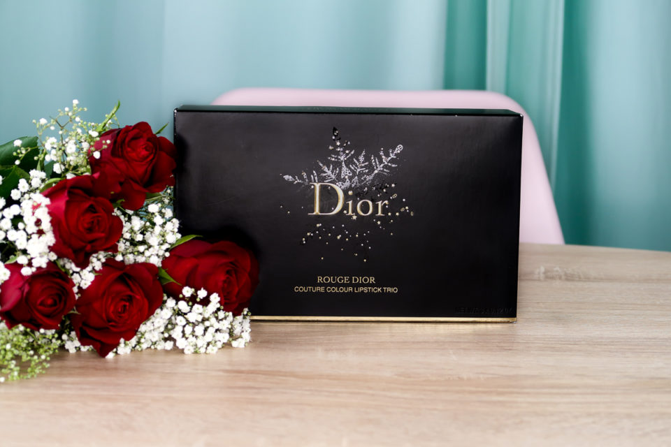 Coffret ROUGE DIOR COUTURE COLOUR LIPSTICK TRIO.