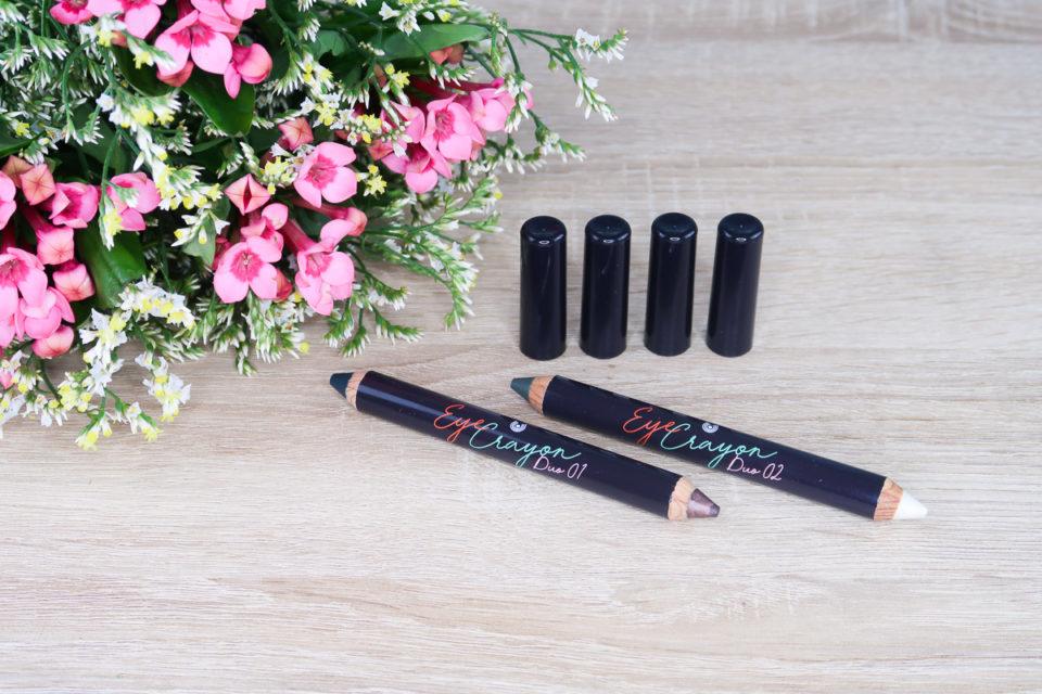 Crayons de Couleurs Yeux & Paupières High Spirits en teintes 01 et 02, Dr. Hauschka.