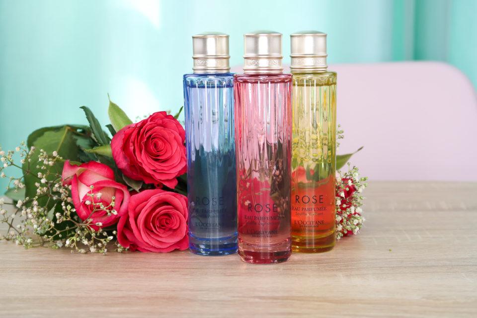 Eau Parfumée Souffle Apaisant, Eau Parfumée Souffle Euphorisant et Eau Parfumée Souffle Vivifiant, L'OCCITANE.