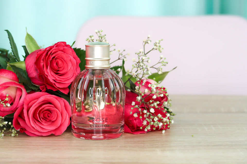 Eau de Toilette ROSE, L'OCCITANE.