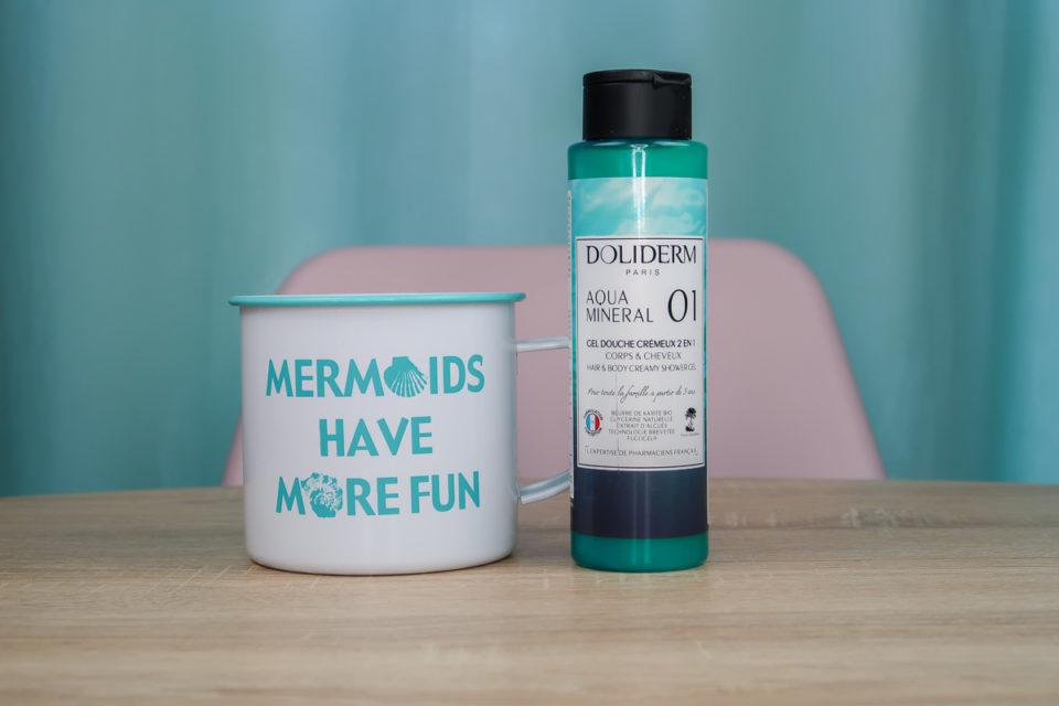 Gel Douche Crémeux N°01 Aqua Mineral, DOLIDERM.