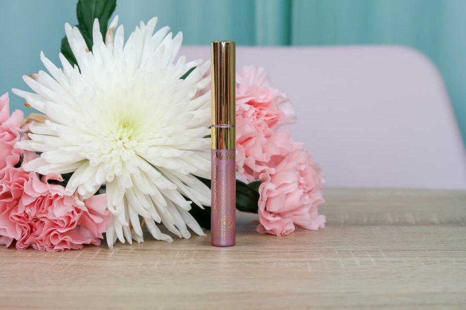 Lèvres de Rose - Soin Gloss 2 en 1 de Melvita.