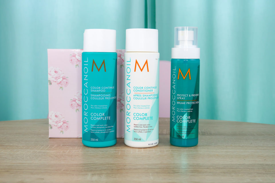 Concours gamme Color Complete, MOROCCANOIL.