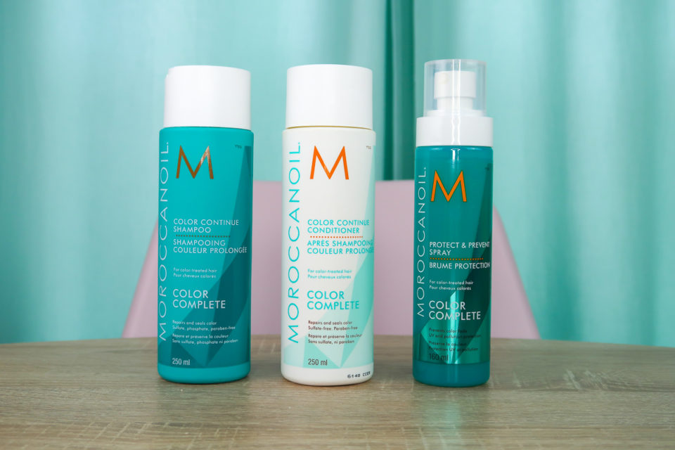 Gamme Color Complete, MOROCCANOIL.