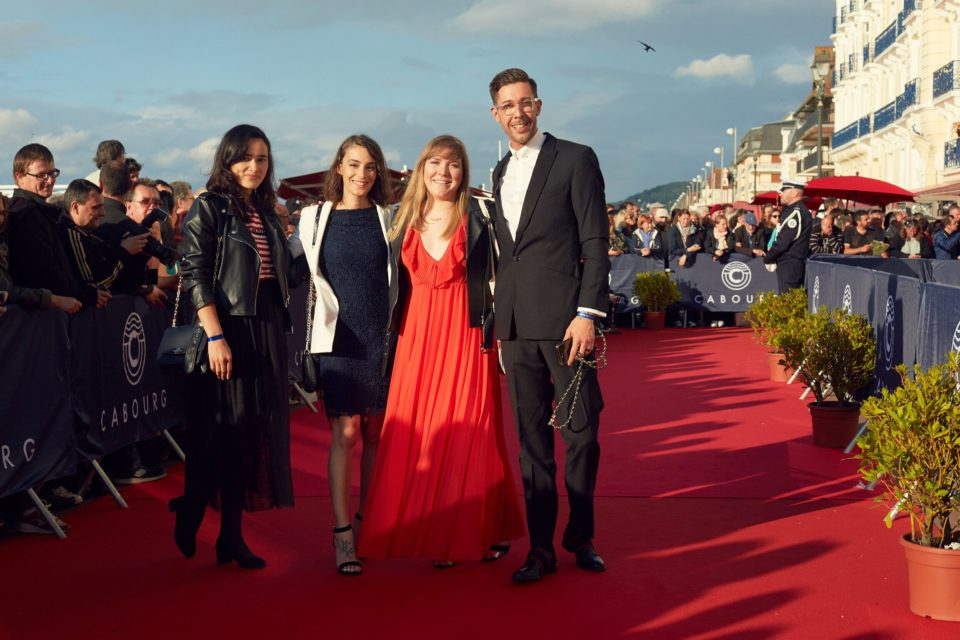 Tapis rouge du Festival du Film de Cabourg (édition 2019).