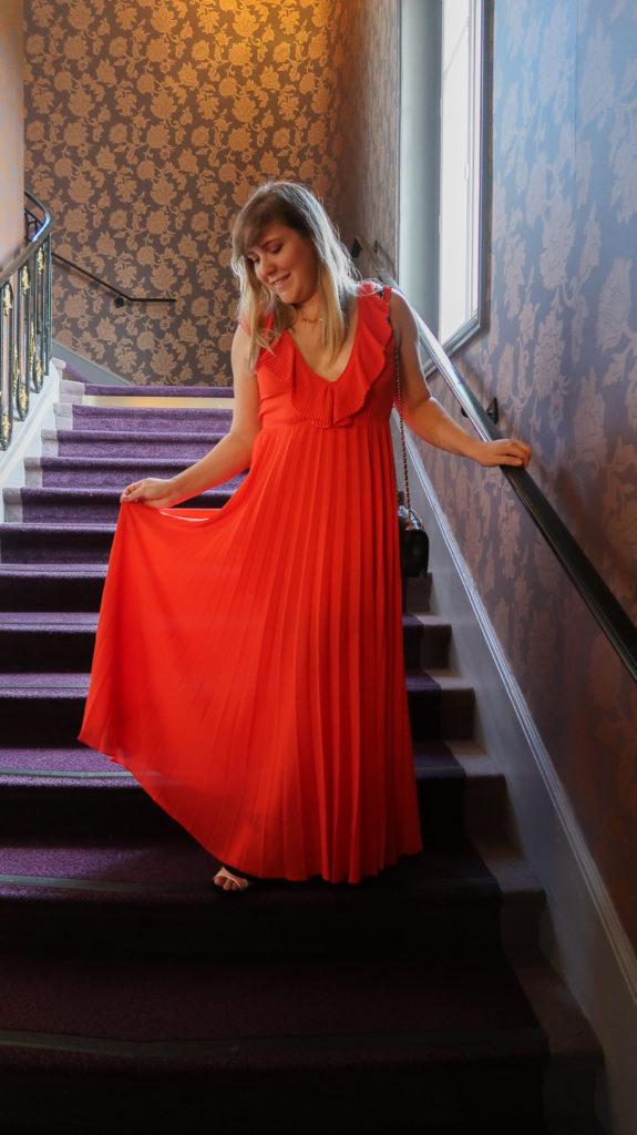 Tenue pour le tapis rouge du Festival du Film de Cabourg (édition 2019).