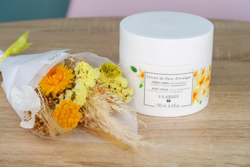 Crème Corps Extrait de Fleur d'Oranger, LILAROZE.
