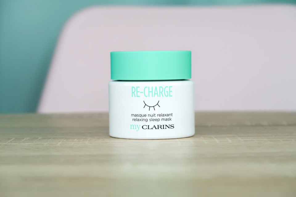 RE-CHARGE masque de nuit relaxant, My CLARINS.