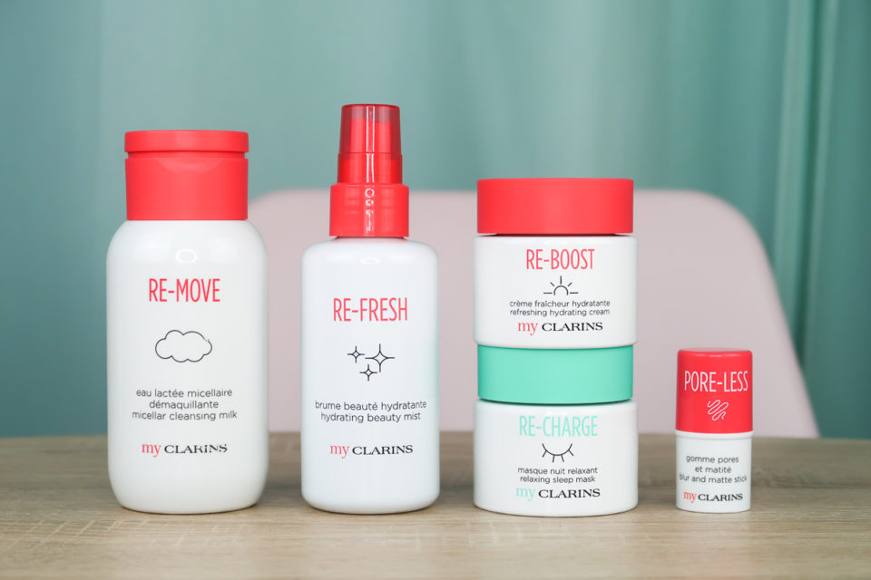 Gamme My CLARINS.
