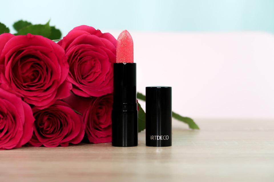 "Lip Jewel en teinte ""18 Pink Positive"", ARTDECO."