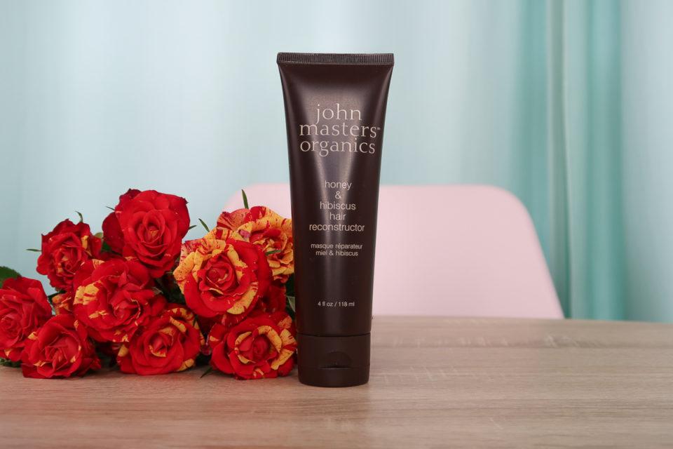 Après-Shampoing pour Cheveux Abîmés au Miel et à l'Hibiscus, John Masters Organics.